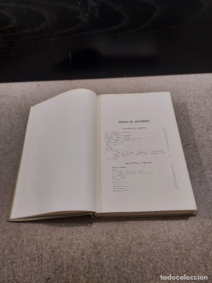 Libros antiguos: MEDICINA...TRATAMIENTO DE LAS ENFERMEDADES INTERNAS....1932....... - Foto 5 - 245439440