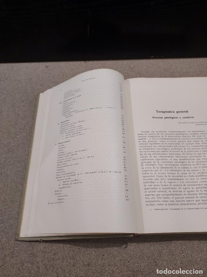 Libros antiguos: MEDICINA...TRATAMIENTO DE LAS ENFERMEDADES INTERNAS....1932....... - Foto 7 - 245439440