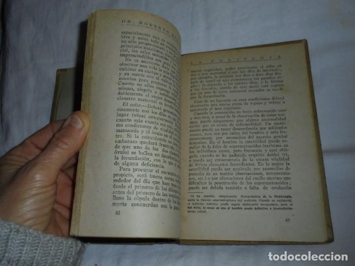 Libros antiguos: LA CALIPEDIA (1936) DR. ROBERTO REMARTINEZ. MEDICO NATURISTA.EL ARTE DE ENGENDRAR HIJOS SANOS - Foto 5 - 245489300