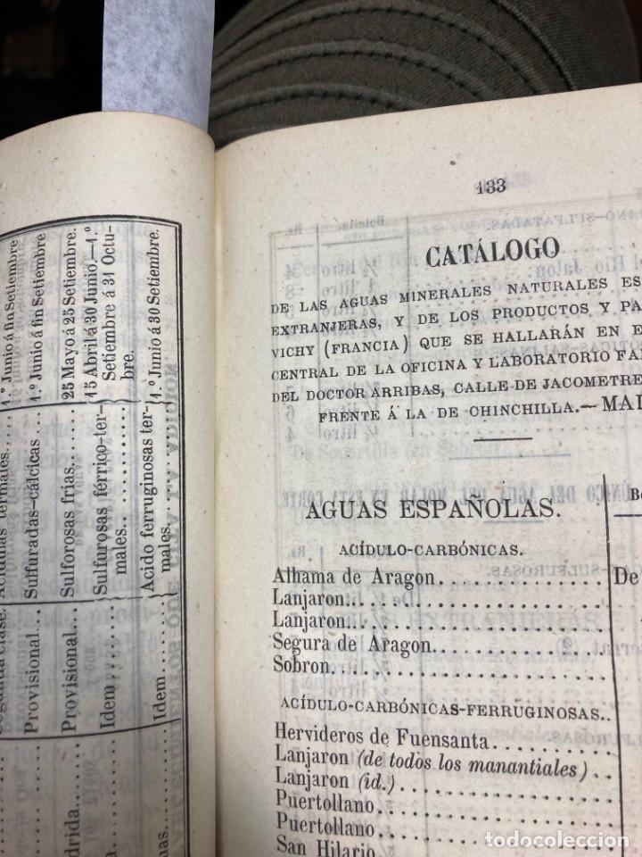 Libros antiguos: AÑO 1873 - GUÍA-MANUAL de Baños y Aguas minerales destinada al servicio del público. - Foto 4 - 245437485