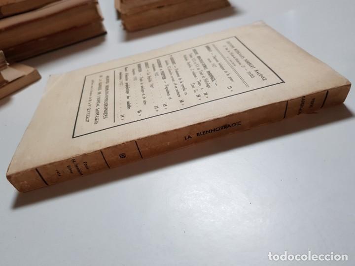 Libros antiguos: LA BLENNORRAGIE. PIERRE BARBELLION. EDITIONS MEDICALES. 1934 - Foto 3 - 246489245