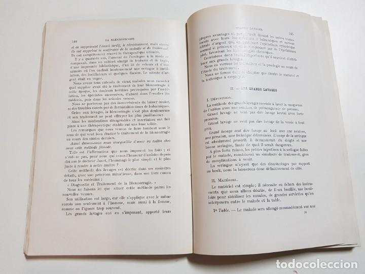 Libros antiguos: LA BLENNORRAGIE. PIERRE BARBELLION. EDITIONS MEDICALES. 1934 - Foto 8 - 246489245