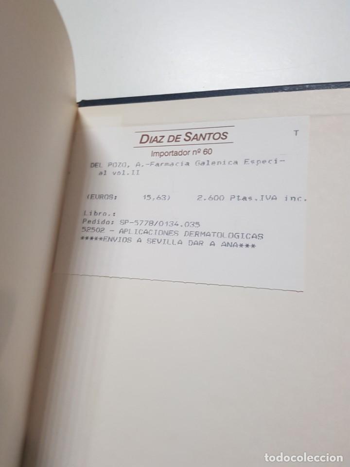 Libros antiguos: FARMACIA GALENICA ESPECIAL. ALFONSO DEL POZO. 3 TOMOS. 1977, 1978, 1979 - Foto 8 - 246490815
