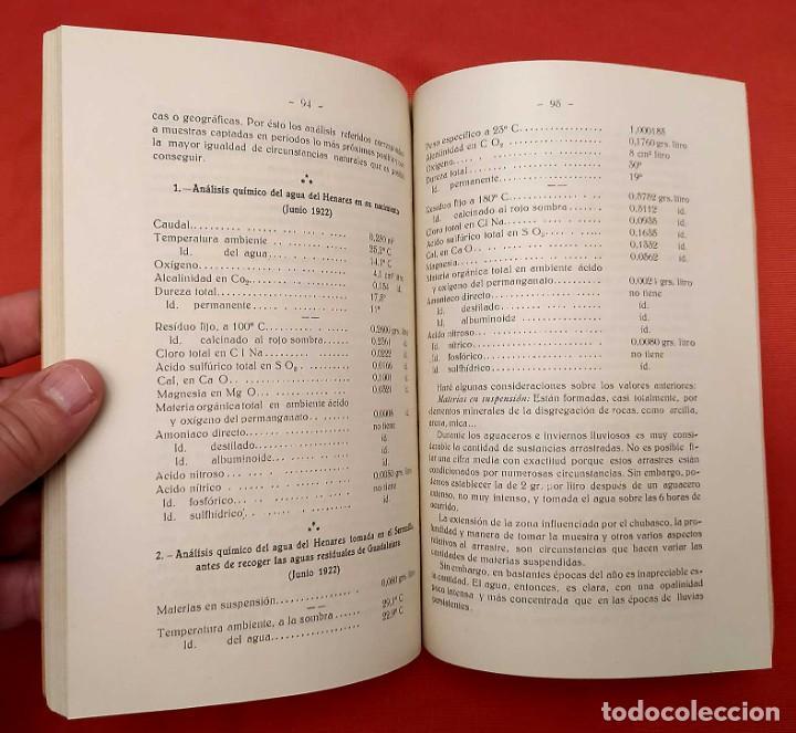 Libros antiguos: AGUAS RESIDUALES DE GUADALAJARA. ESPAÑA. AÑO: 1927. BUEN ESTADO. - Foto 4 - 246541830