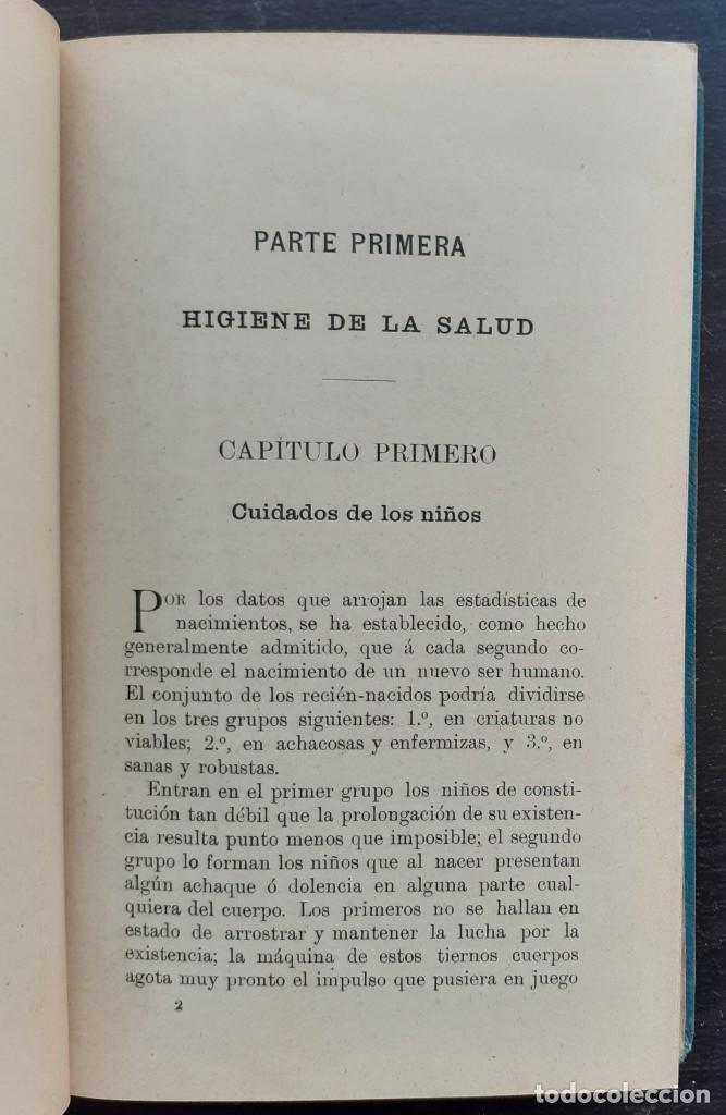 Libros antiguos: 1904 - Medicina, Salud - El Consejero de las Familias. Guía de Sanos y Enfermos - Sebastián Kneipp - Foto 6 - 263229550