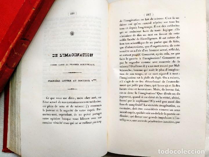 Libros antiguos: 1845 - REVEILLÉ-PARISE: ÉTUDES DE LHOMME - DOS TOMOS - CLÁSICO DE LA MEDICINA - Foto 3 - 239870540