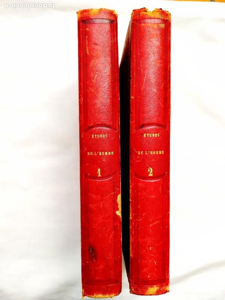 1845 - REVEILLÉ-PARISE: ÉTUDES DE L'HOMME - DOS TOMOS - CLÁSICO DE LA MEDICINA (Libros Antiguos, Raros y Curiosos - Ciencias, Manuales y Oficios - Medicina, Farmacia y Salud)