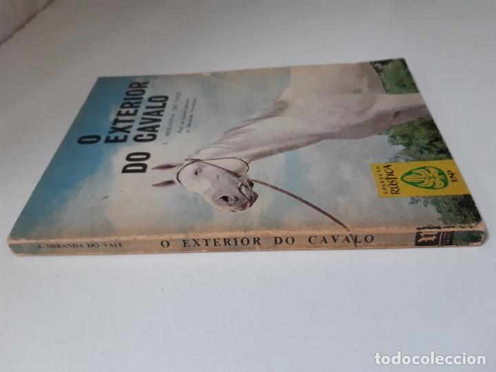 Libros antiguos: O EXTERIOR DO CAVALO Jose Miranda Do Vale Medicina Veterinaria Caballo 1966 - Foto 4 - 253899555