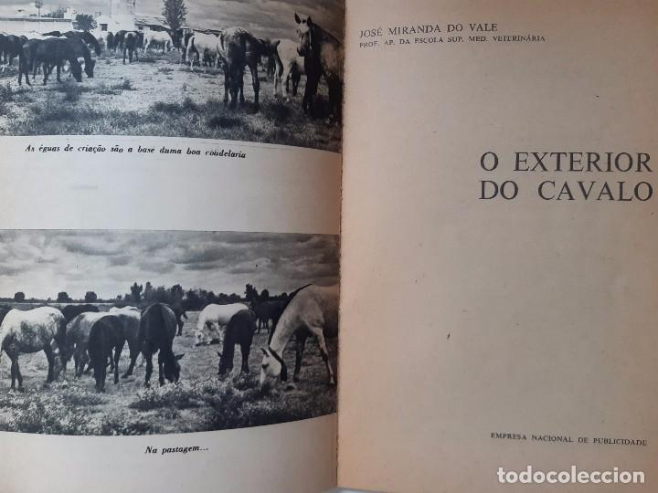 Libros antiguos: O EXTERIOR DO CAVALO Jose Miranda Do Vale Medicina Veterinaria Caballo 1966 - Foto 9 - 253899555
