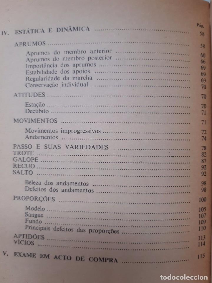 Libros antiguos: O EXTERIOR DO CAVALO Jose Miranda Do Vale Medicina Veterinaria Caballo 1966 - Foto 24 - 253899555