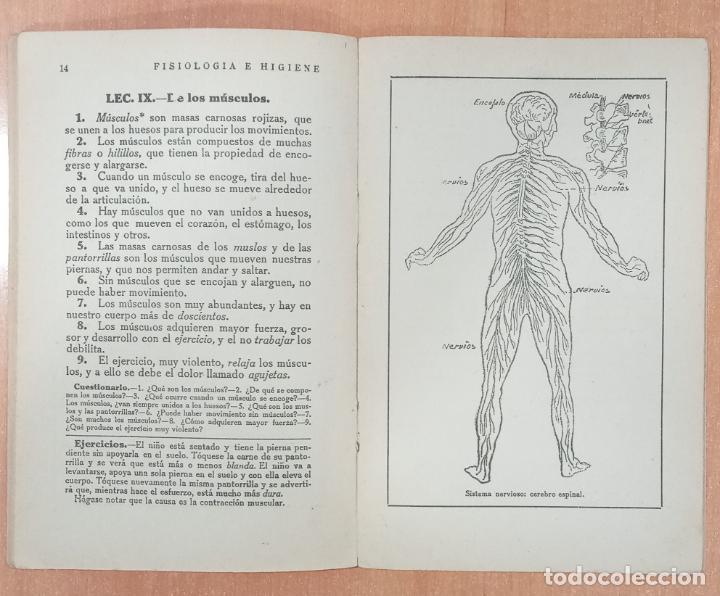 Libros antiguos: FISIOLOGIA E HIGIENE. VICTORIANO F ASCARZA. TIRADA 19. 1926 - Foto 2 - 253984440