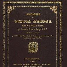 Libros antiguos: LECCIONES DE FÍSICA MÉDICA, DE JOSÉ DE GARDOQUI. EDICIÓN ILUSTRADA DE CÁDIZ, 1845. MEDICINA FARMACIA. Lote 256043845
