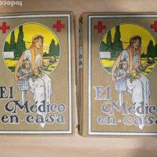 Libri antichi: EL MÉDICO EN CASA TOMOS I Y II EDITORIAL LABOR 1935. Lote 257433410