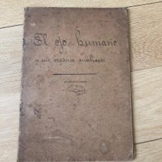 Libros antiguos: EL OJO HUMANO Y SUS ORGANOS AUXILIARES DEL DR H. RENLOW. Lote 257739010
