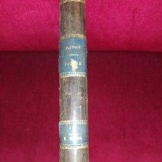 Libros antiguos: TRATADO TEÓRICO Y PRÁCTICO DEL ARTE DE LOS PARTOS. W.S. PLAYFAIR 1880. Lote 258035850