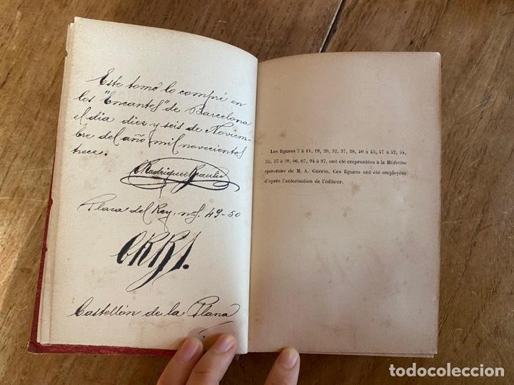 Libros antiguos: Libro Cours Médicine Opératoire - Paris - 1880 - Foto 7 - 259758390