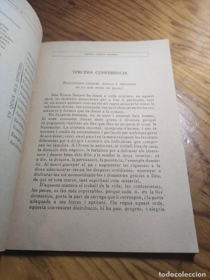 Libros antiguos: Curset de nocions de cultura mèdica casolana. Escola professional i dmèstica de Sant Sadurní dAnoia - Foto 4 - 261305440