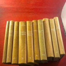 Libros antiguos: TRATADO DE ESTOMATOLOGÍA COLECCIÓN 10 TOMOS. Lote 261743025