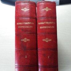 Libri antichi: MANUAL DEL MÉDICO PRÁCTICO. CLINICA Y TERAPÉUTICA ESPECIALES. 1908.. Lote 262180920