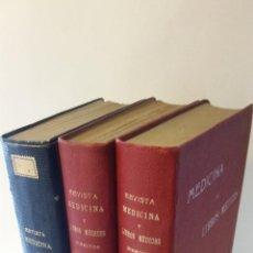 Libros antiguos: 1915 - 1917 SANTIAGO RAMÓN Y CAJAL (Y OTROS) - MEDICINA Y LIBROS MÉDICOS. REVISTA MENSUAL. Lote 262461600