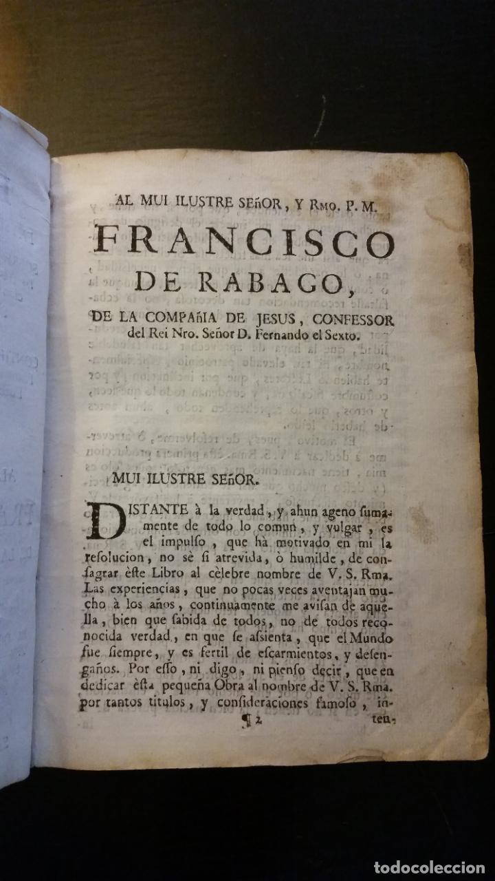 Libros antiguos: 1753 - ESTEBAN Y LECHA - Escrutinio sobre virtudes medicinales de las Aguas de Alaraz y Muñana - Foto 4 - 262462200