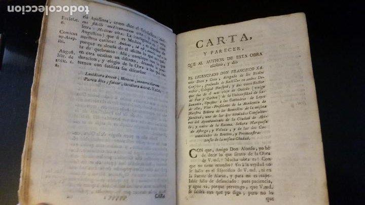 Libros antiguos: 1753 - ESTEBAN Y LECHA - Escrutinio sobre virtudes medicinales de las Aguas de Alaraz y Muñana - Foto 6 - 262462200