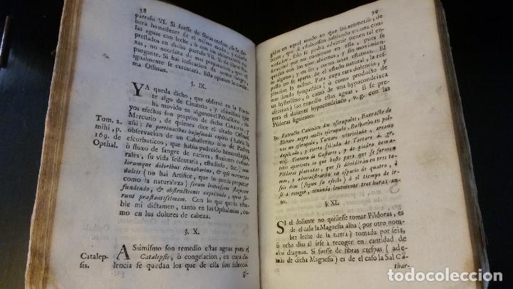 Libros antiguos: 1753 - ESTEBAN Y LECHA - Escrutinio sobre virtudes medicinales de las Aguas de Alaraz y Muñana - Foto 8 - 262462200