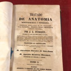 Libros antiguos: TRATADO DE ANATOMÍA. Lote 262546415