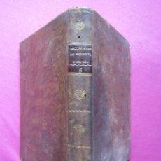 Libros antiguos: DICCIONARIO DE MEDICINA Y CIRUGIA TOMO QUINTO POR D. A. B. AÑO 1817. Lote 262635140