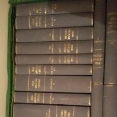 Libros antiguos: EXCELENTE LOTE DE 23 TOMOS DE LA REVISTA CIRUGIA GINECOLOGIA Y UROLOGIA. AÑOS 50. PERFECTOS. Lote 262635625