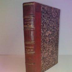 Libros antiguos: CURIOSO Y SORPRENDENTE LIBRO SOBRE LA FORMULACION FARMACEUTICA 110 AÑOS. Lote 262767140