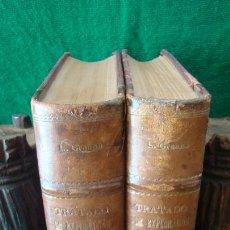 Libros antiguos: EXPLORACION CLINICA Y DIAGNOSTICO MEDICO. DR. GREENE. 1921. DOS TOMOS. PIEL.. Lote 263039015