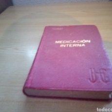 Libros antiguos: ANTIGUO LIBRO MEDICINA INTERNA. N. NEUENS. BARCELONA. 1896. Lote 263145280