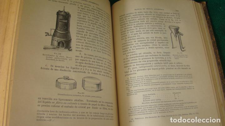 Libros antiguos: MANUAL PRACTICO DE CIRUGIA ANTISÉPTICA . DR. CARDENAL. 1894. OBRA MUY ILUSTRADA. - Foto 3 - 263243200