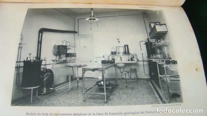 Libros antiguos: MANUAL PRACTICO DE CIRUGIA ANTISÉPTICA . DR. CARDENAL. 1894. OBRA MUY ILUSTRADA. - Foto 9 - 263243200