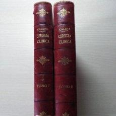 Libros antiguos: TRATADO DE CIRUGÍA CLÍNICA. TILLAUX. 1895.. Lote 263252040
