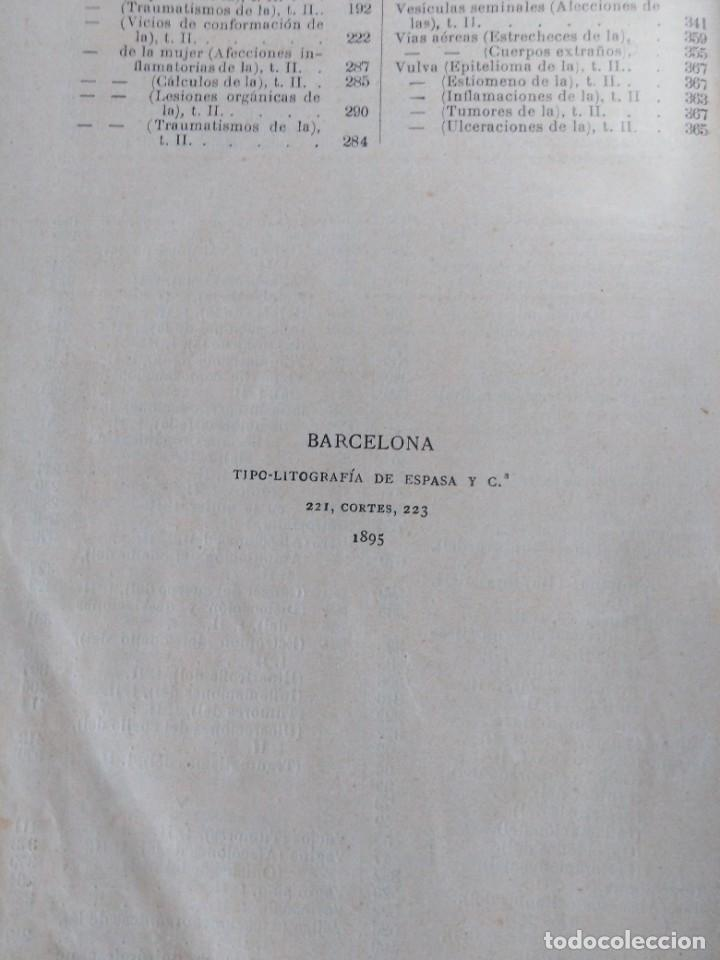 Libros antiguos: Tratado de cirugía clínica. Tillaux. 1895. - Foto 12 - 263252040