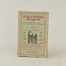 Libros antiguos: PLANTAS MEDICINALES, 3000 CONSEJOS ÚTILES, M. BARBÉ, IMP. PEDRO ORTEGA, BARCELONA. 18,5X13CM. Lote 263259405