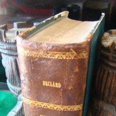 Libros antiguos: TRATADO DE FISIOLOGIA HUMANA POR J. BECLARD. 1877 CON 246 ILUSTRACIONES. LOMO PIEL. Lote 263303445