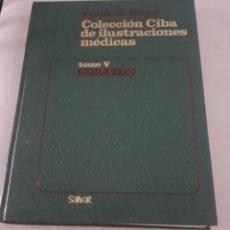 Libros antiguos: LIBRO DE ILUSTRACIONES MEDICAS TOMO V CORAZON. Lote 264794189