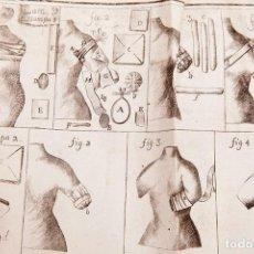Libros antiguos: TRATADO DE VENDAGES Y APOSITOS - FRANCISCO CANIVELL - 1763. Lote 267199894