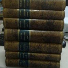 Libros antiguos: TRATADO DE MEDICINA. CHARCOT / BOUCHARD / BRISSAUD. 7 TOMOS. 1892. MADRID. GRABADOS. VER. Lote 267542804