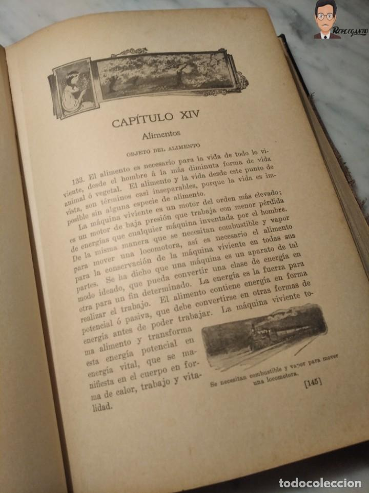 Libros antiguos: GUÍA PRÁCTICO DE LA SALUD (DE FEDERICO M. ROSSITER) AÑO 1913 LIBRO - ILUSTRADO - MEDICINA - SIGLO XX - Foto 6 - 267779614