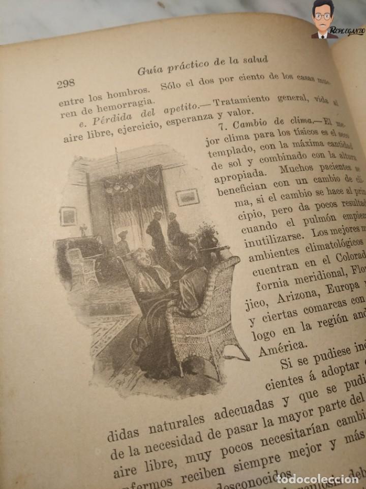 Libros antiguos: GUÍA PRÁCTICO DE LA SALUD (DE FEDERICO M. ROSSITER) AÑO 1913 LIBRO - ILUSTRADO - MEDICINA - SIGLO XX - Foto 9 - 267779614