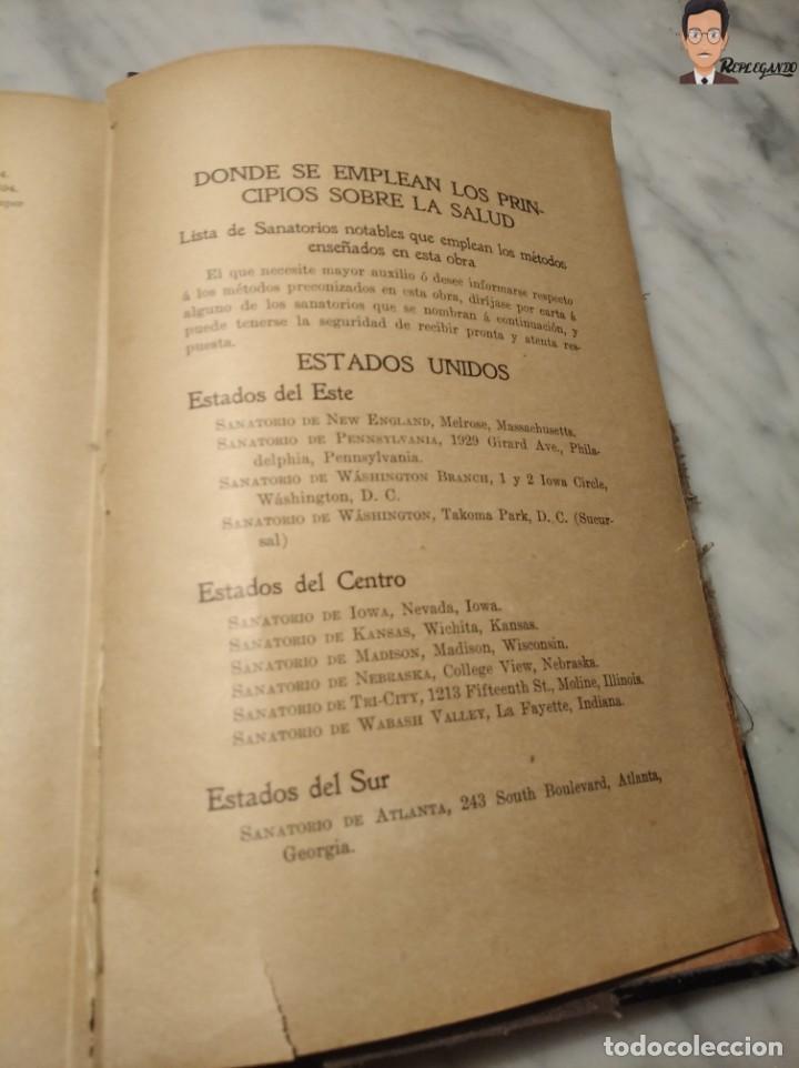 Libros antiguos: GUÍA PRÁCTICO DE LA SALUD (DE FEDERICO M. ROSSITER) AÑO 1913 LIBRO - ILUSTRADO - MEDICINA - SIGLO XX - Foto 10 - 267779614