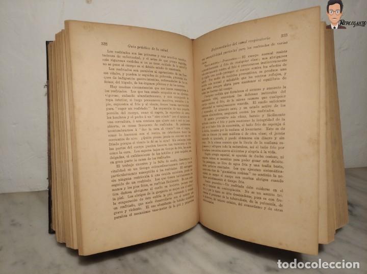 Libros antiguos: GUÍA PRÁCTICO DE LA SALUD (DE FEDERICO M. ROSSITER) AÑO 1913 LIBRO - ILUSTRADO - MEDICINA - SIGLO XX - Foto 28 - 267779614