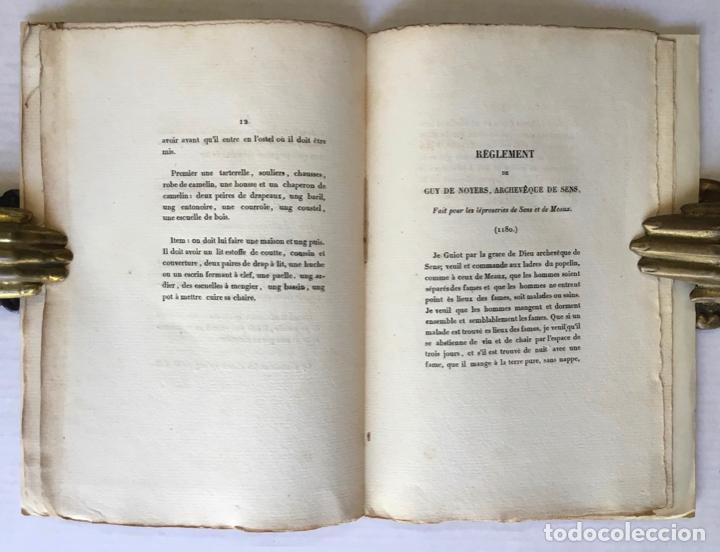 Libros antiguos: LÉPREUX (LES) A REIMS. QUINZIÈME SIÈCLE. - Foto 5 - 123146748
