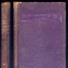 Libros antiguos: RENOUARD, PIERRE V. RESEÑA HISTÓRICO-FILOSÓFICA DE LA MEDICINA EN EL SIGLO XIX. (1877).. Lote 269815423