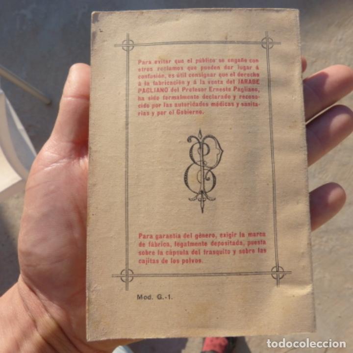 Libros antiguos: Pequeño libro de medicina , pagliano , 1906 , instrucciones para curarse a si mismo - Foto 2 - 275781803