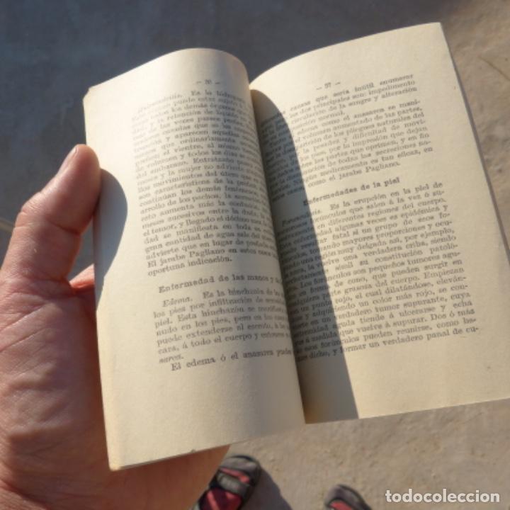 Libros antiguos: Pequeño libro de medicina , pagliano , 1906 , instrucciones para curarse a si mismo - Foto 3 - 275781803